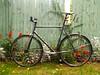Raleigh Rush Hour (Steven Vance) Tags: bike bicycle outside apartment bicicleta raleigh porch singlespeed fixedgear rushhour vélo maviccxp22