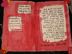 Write backward. (saturdayfish) Tags: club this fight journal smith tyler keri wreck fightclub tylerdurden backward narrator durden wtj kerismith wreckthisjournal