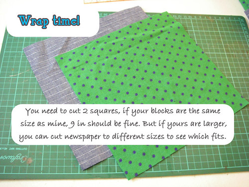 w1- Wrap cutting out material