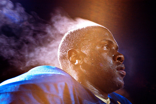 Steam rises from the head of Chamblee High School senoir lineman Josh Fletcher. Chamblee earned the No. 4 seed in 6-AAAA with a 16-8 win over Miller Grove Friday, Nov. 6. Travis Hudgons/Champion Newspaper