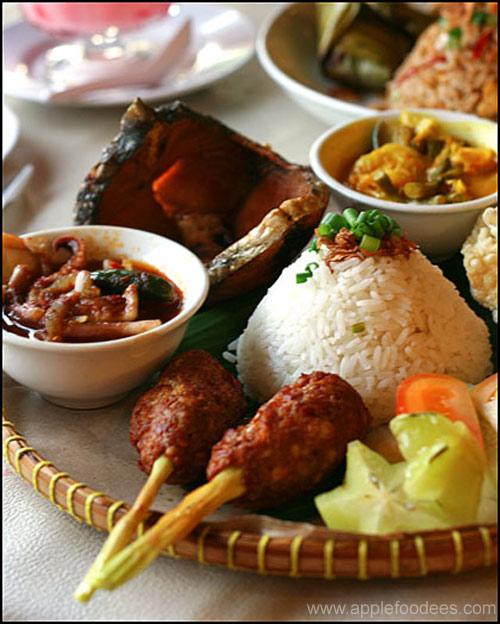 Nyonya Food-Thai Mixed Rice