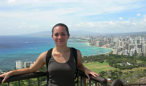Me on top of Diamond Head