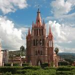 San Miguel de Allende: Parroquia y Reloj 3