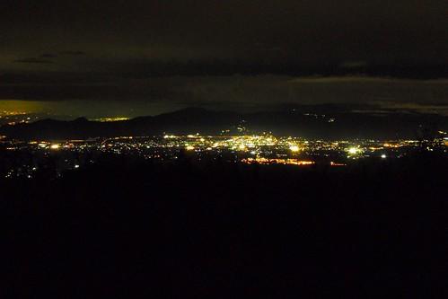 Vistas desde la quinta estación de Subashiri trail