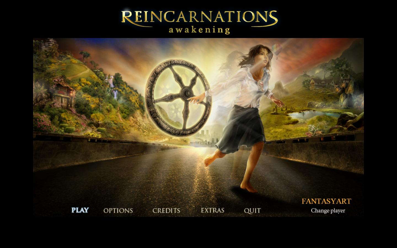 Reincarnations: The Awakening main menu