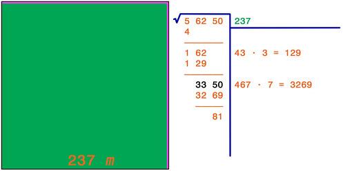 Radice quadrata 8