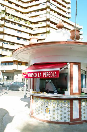 Kiosco-Pergola