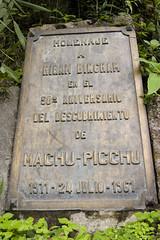 Machu Picchu memorial
