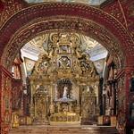 Quito: Capilla de la Virgen del Rosario en Santo Domingo, S. XVIII