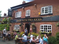 Swan with Two Nicks, Altrincham, Cheshire