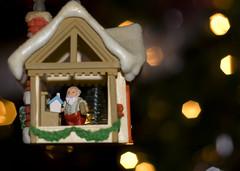 Santa's Workshop (Nancy Vanderbilt Photography) Tags: santa christmas tree season toys lights bokeh seasonal workshop magical santasworkshop