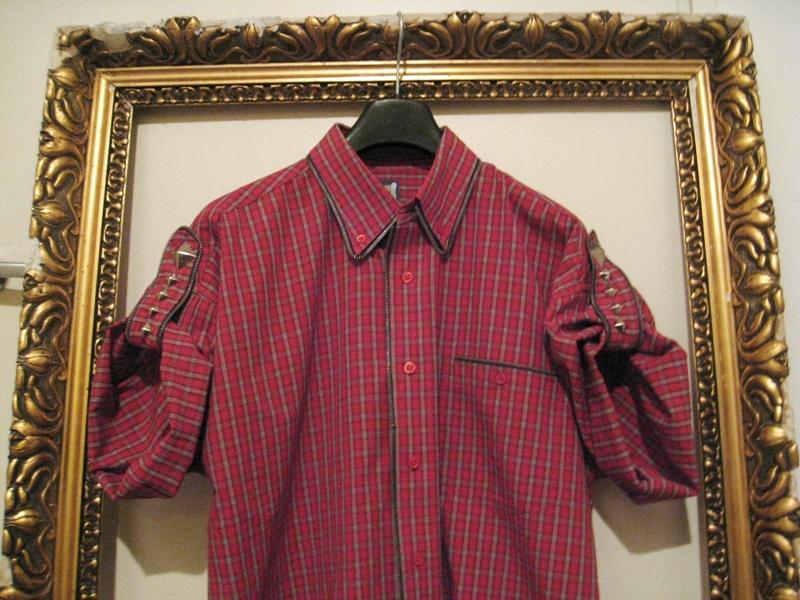 OutsaPop DIY zipper detailed shirt 2