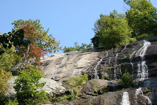 Crabtree Falls near the Blue Ridge Parkway