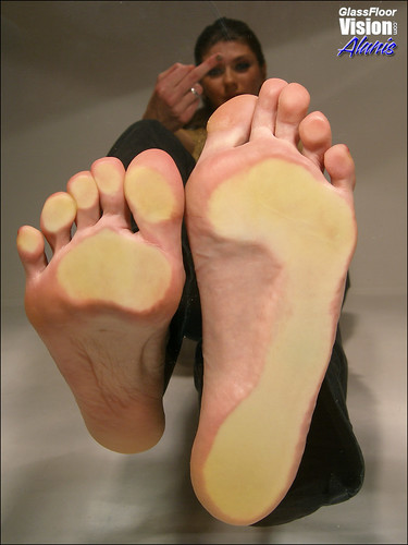 Soles in my face