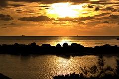 Sunset on Grand Bahama