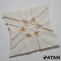 Six-pointed star tessellation (Origami Natan) Tags: abstract art mxico paper paperart star design 3d origami arte geometry papel abstracto diseo estrella tessellation polygons origamitessellation geometra geometricart polgonos origami3d carlosnatanlpeznazario origamizatan sixpointsstartessellation artegeomtrico origaminatan teselacinestrelladeseispuntas