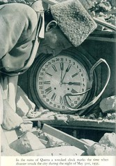 Quetta earthquake, May 31, 1935, time (msb1606) Tags: pakistan clock earthquake asia natural time disaster 1935 subcontinent quetta balochistan baluchistan sesmic