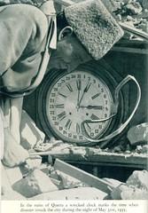 Quetta earthquake, May 31, 1935, time (msb1606) Tags: pakistan clock earthquake asia natural time disaster 1935 subcontinent quetta balochistan baluchistan sesmic