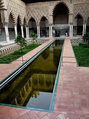 El Alczar (Sevilla) (Enrique Flores 71) Tags: spain espanha seville andalucia andalusia andalusien espagne spanien spagna andalousie sevilha siviglia andaluzia travelsofhomerodyssey elalcazarreflejosevillaespaa