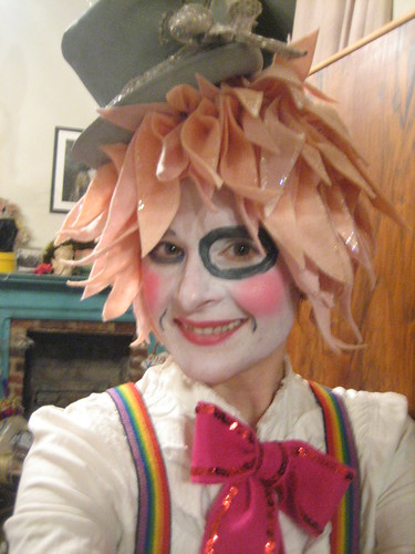 clown faces makeup. Clown Face Theatrical Makeup,