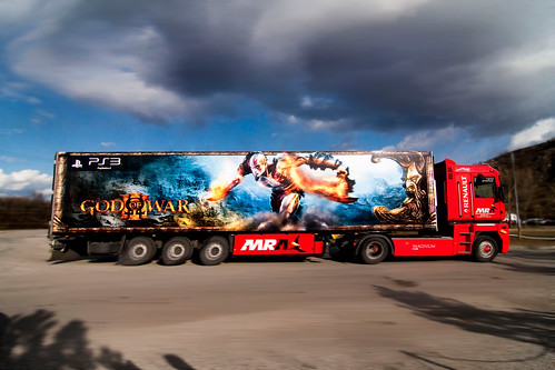 God of War III Truck