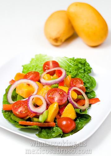 Spring Mango Salad