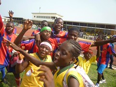"Jubilation over a victory at the El-wak  Stadium • <a style=""font-size:0.8em;"" href=""http://www.flickr.com/photos/48668870@N02/4547491109/"" target=""_blank"">View on Flickr</a>"