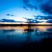 Norrie State Park, Hudson River at sunset