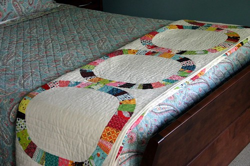 Single Girl Quilt - bed