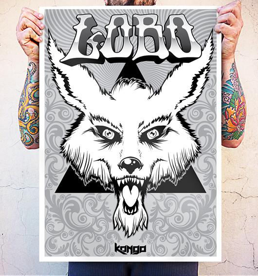 Poster Lobo