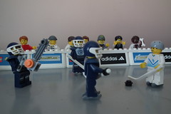 Hockey Match (Paranoid from suffolk) Tags: hockey lego minifigs 2011 minifigures project365