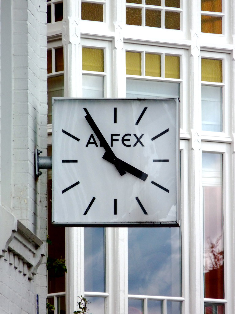 Alfex Watches Juwelery Shop Sign in Zwolle the Netherlands