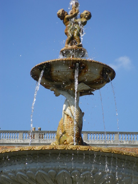 Fountain, Temple Newsam, Leeds