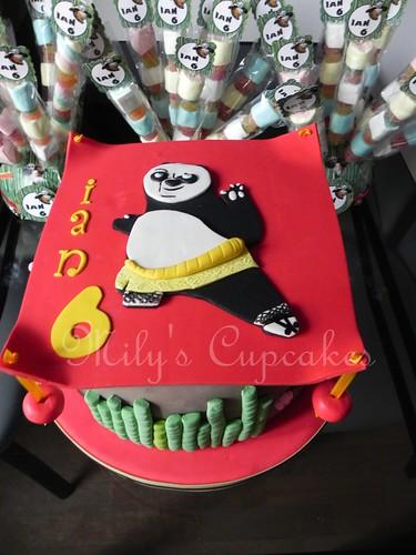 Kung Fu panda Cake  para