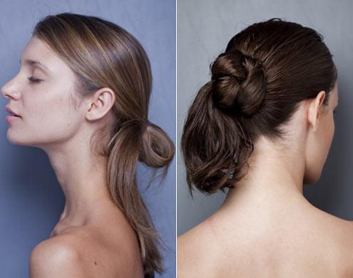 penteados para o verão 2012