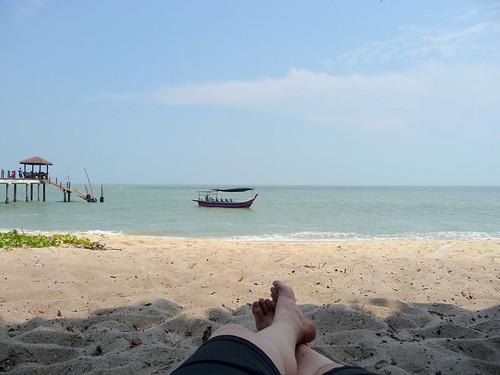 Pantai Kerachut - relaxing