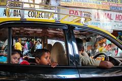 Mumbai taxi, India, 2014