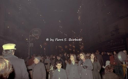Ercolano (NA), 1970 circa, Sfilata per la festa dell'Epifania.