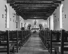 Mission Espada (Patrick.Burns) Tags: mission missionespada espada texas sanantonio church blackandwhite