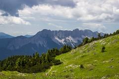 View from Hochobir toward Koshuta mountains (fotoalex757) Tags: mountain carinthia karnten hochobir austria aantonic73 alex antonic fotoalex757 aleksander landscape