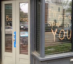 (nikkorsnapper) Tags: closedsigns illputaspellonyou oregonhill businesses plateglasswindows spells storefronts richmondvirginiausa vandalism