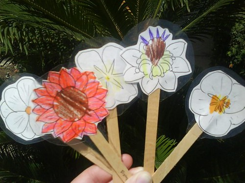 our flower markers