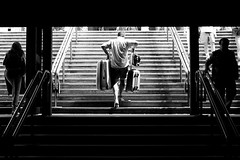 ( 45) - If You Could See Me Now (Donato Buccella / sibemolle) Tags: blackandwhite bw italy milan milano streetphotography stazionecentrale milanouelw tuttialmare canon400d sauvette sibemolle elogiodelladisarmonia lasolitafugadelweekend fotografiastradale
