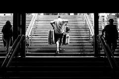 ( 45) - If You Could See Me Now (Donato Buccella / sibemolle) Tags: blackandwhite bw italy milan milano streetphotography stazionecentrale milanouelw tuttialmare canon400d sauvette sibemolle elogiodelladisarmonia lasolitafugadelweekend fotografiastradale