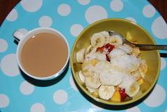 my favourite breakfast (milvialovesyou) Tags: morning coffee fruits breakfast coconut banana maplesyrup frutta pesca caffè soymilk colazione mattina cocco peache sciroppodacero lattedisoia