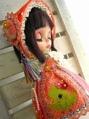 Bunka Doll outfit for blythe