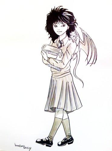 Schoolgirl n Gargoyle