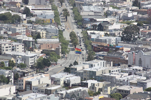 The Castro from the Twin Peaks