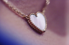 Love (heartbreaker [London]) Tags: love gold necklace heart fine mother jewelry explore pearl van shape mop pendant cleef arpels