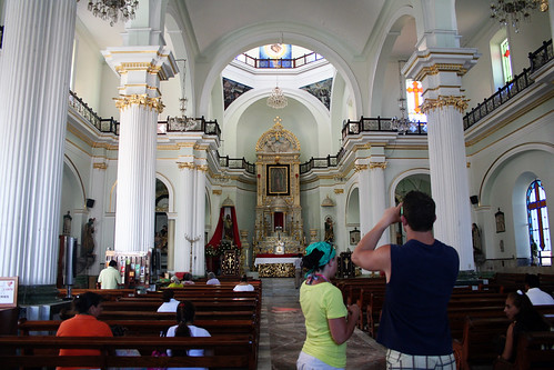 Inside Virgen de Guadalupe Church - Puerto Vallarta
